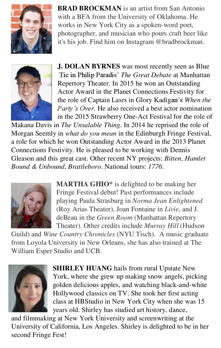 Cast List page 1a 081016