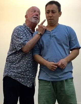 Dolan Byrnes & Gary Sugai as Makana & Alvin
